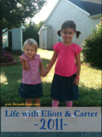 life with eliott & carter 2011