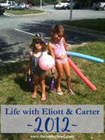 Life With Eliott & Carter 2012
