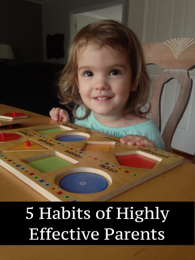 5 Habits of Highly Effective Parents