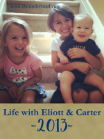 life with eliott & carter 2013