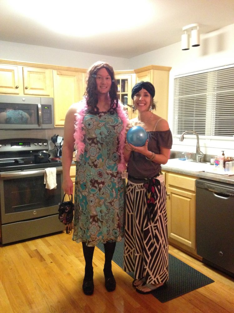 Fortune Teller and Trans Person Costume