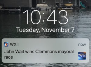 mayoral race