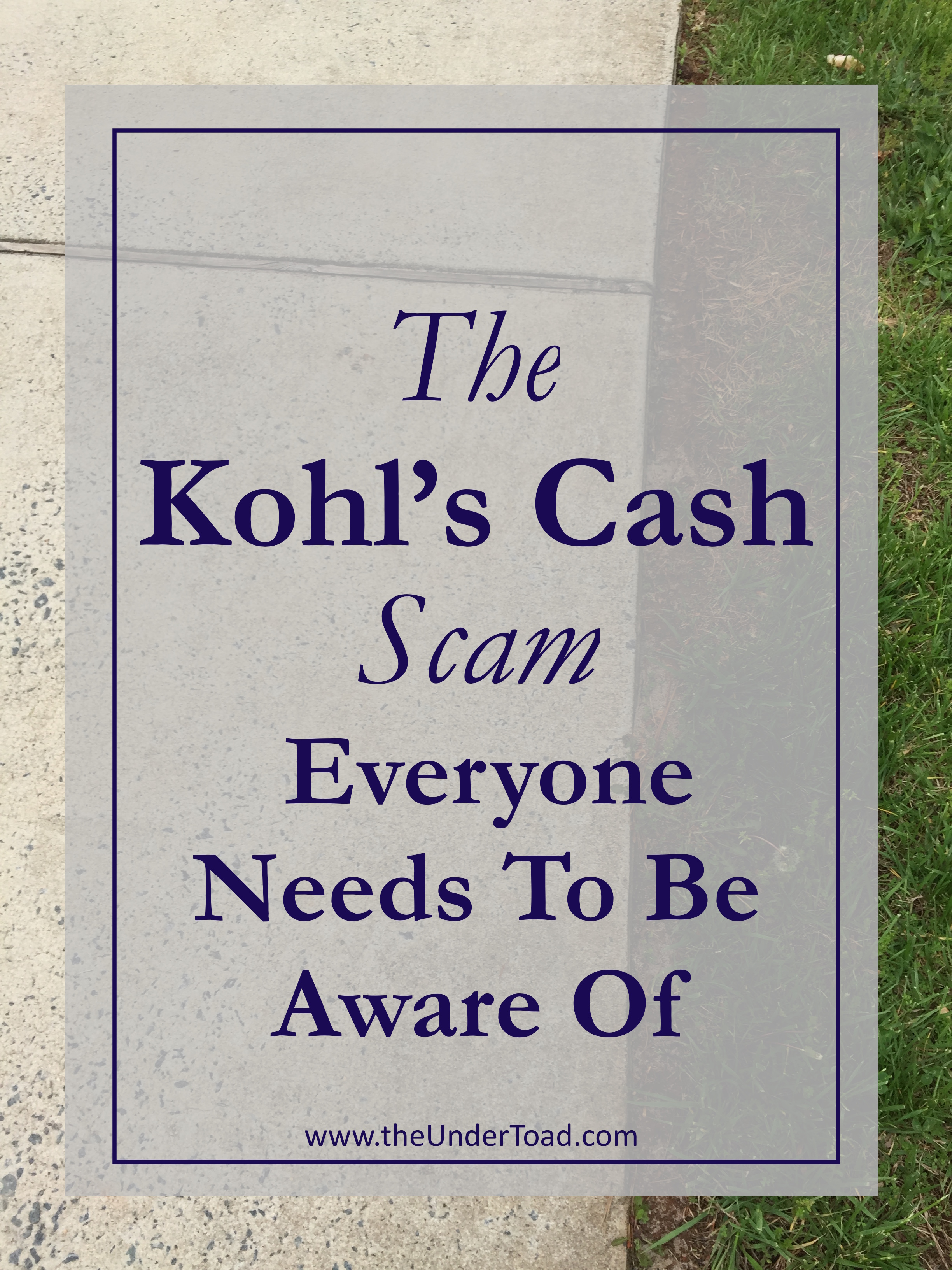 Has My Kohl\'s Account Been Hacked? | The UnderToad